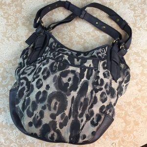 a.n.a Leather Hobo Bag